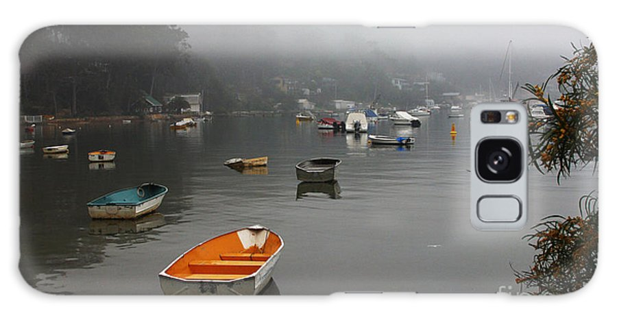 Mist Galaxy S8 Case featuring the photograph Careel Bay Mist by Sheila Smart Fine Art Photography