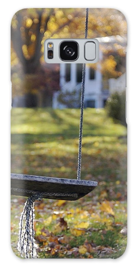 Swing Galaxy S8 Case featuring the photograph Carefree by Faith Harron Boudreau