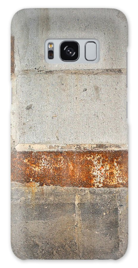 Architecture Galaxy S8 Case featuring the photograph Carlton 14 - Abstract Concrete Wall by Tim Nyberg