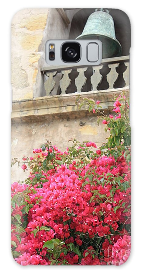 Carmel-by-the-sea Galaxy S8 Case featuring the photograph Carmel Mission Bell by Carol Groenen