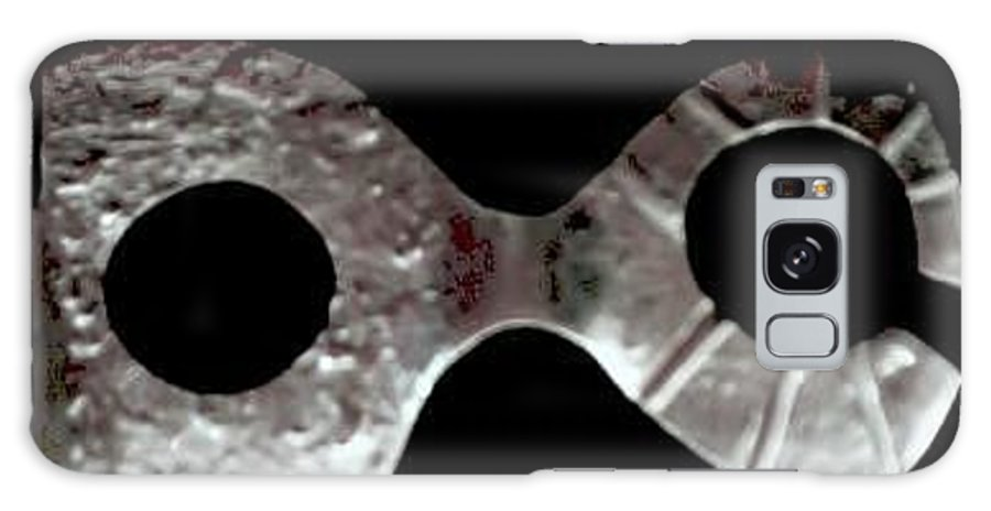 Carnival Type Face Mask For Wearing In .999 Fine Silver Galaxy S8 Case featuring the photograph Carnival 002 by Robert aka Bobby Ray Howle