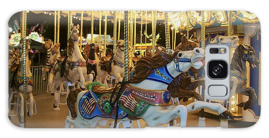 Carousel Horse Galaxy S8 Case featuring the photograph Carousel Horse 3 by Anita Burgermeister