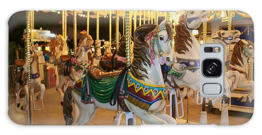 Carousel Horse Galaxy S8 Case featuring the photograph Carousel Horse 4 by Anita Burgermeister
