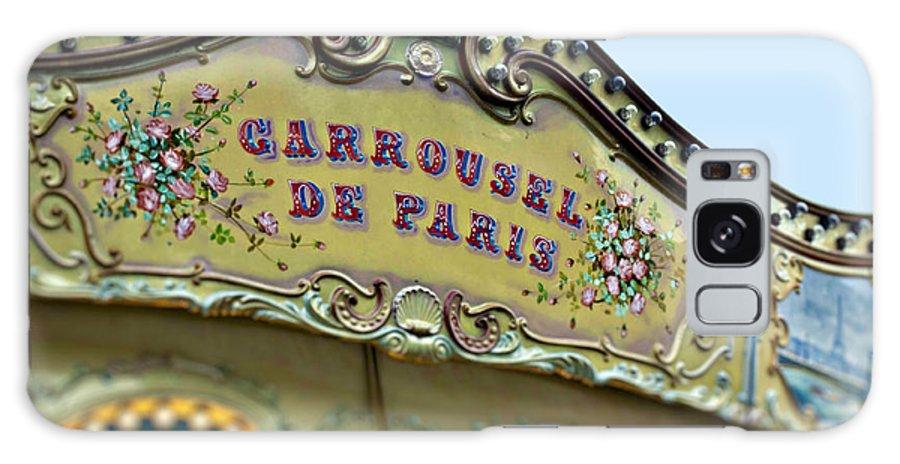 Paris Galaxy S8 Case featuring the photograph Carrousel De Paris by Melanie Alexandra Price