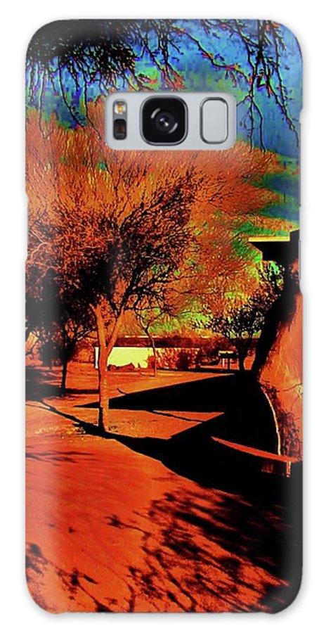 Casa Grande Galaxy S8 Case featuring the photograph Casa Grande Abstract I by Diana Dearen