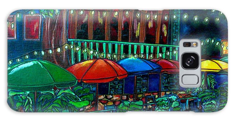 San Antonio Galaxy S8 Case featuring the painting Casa Rio by Patti Schermerhorn