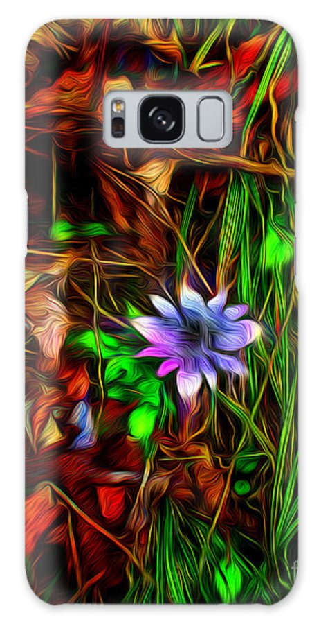 Paintings Photos Drawings Digital Art Mixed Media Painters Illustrators Photographers Digital Artists Abstract Architecture Fantasy Impressionism Landscape Portraits Science Fiction Still Life Surrealism Galaxy S8 Case featuring the mixed media Cascade by Kevin Keeling