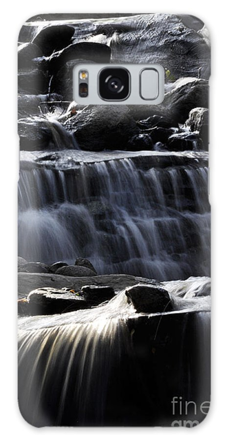 Clay Galaxy S8 Case featuring the photograph Cascading Falls by Clayton Bruster
