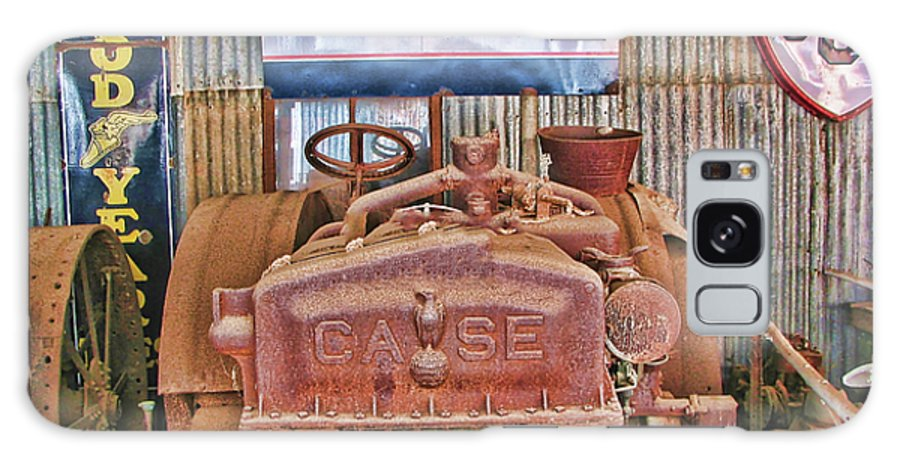 Case Tractor 1918-1929 Galaxy S8 Case featuring the photograph Case Tractor 1918-1929 by Douglas Barnard