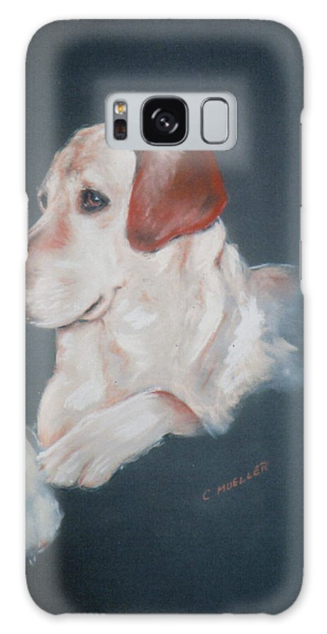 Dog Galaxy S8 Case featuring the painting Casey by Carol Mueller