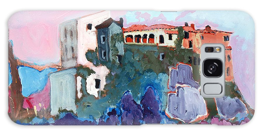 Castle Galaxy Case featuring the painting Castello by Kurt Hausmann