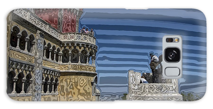 Dream Galaxy S8 Case featuring the digital art Castle 0f Lurid Dreams by Carl Purcell
