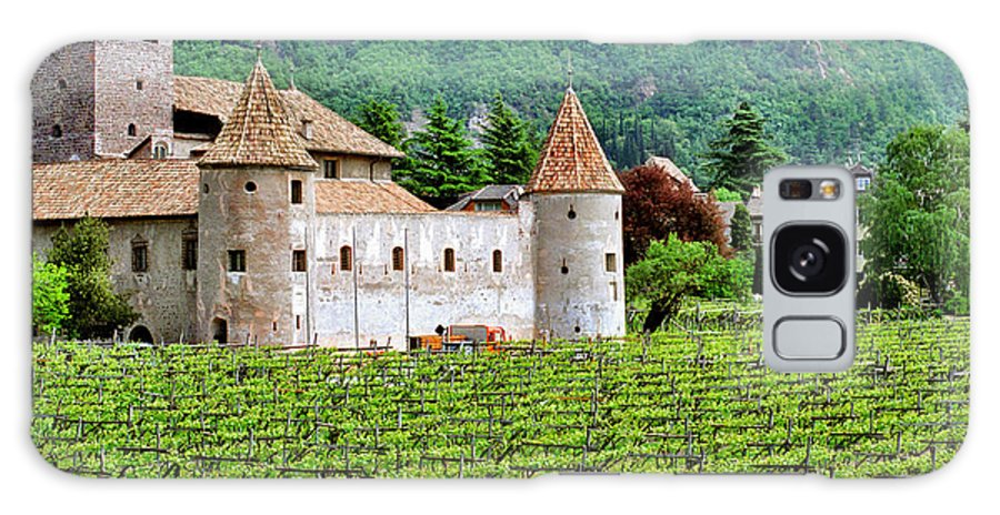Castle Galaxy S8 Case featuring the photograph Castle And Vineyard In Italy by Greg Matchick