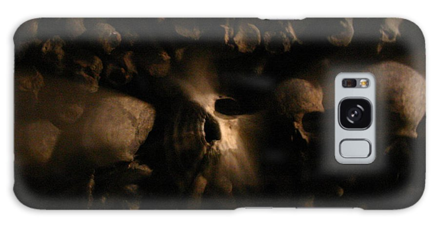 Galaxy S8 Case featuring the photograph Catacombs - Paria France 3 by Jennifer McDuffie
