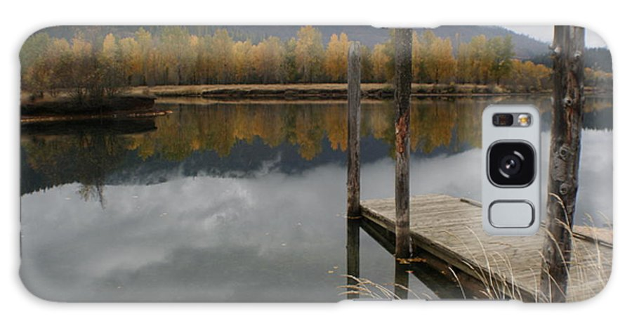 Cataldo Galaxy S8 Case featuring the photograph Cataldo Reflections by Idaho Scenic Images Linda Lantzy