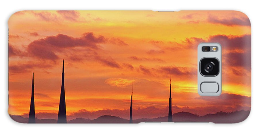 Insogna Galaxy S8 Case featuring the photograph Cathedral Church Sunset by James BO Insogna