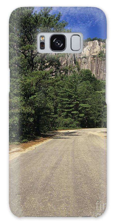 Travel Galaxy Case featuring the photograph Cathedral Ledge State Park - Conway New Hampshire Usa by Erin Paul Donovan