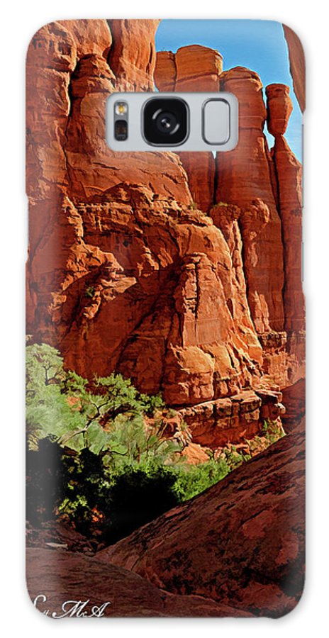 Arizona Galaxy S8 Case featuring the photograph Cathedral Rock 06-124 by Scott McAllister