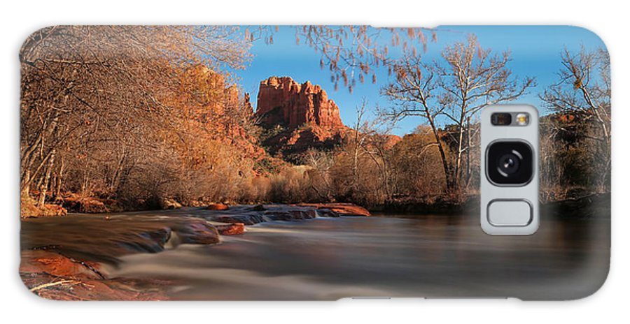 Cathedral Galaxy S8 Case featuring the photograph Cathedral Rock Sedona Arizona by Larry Marshall