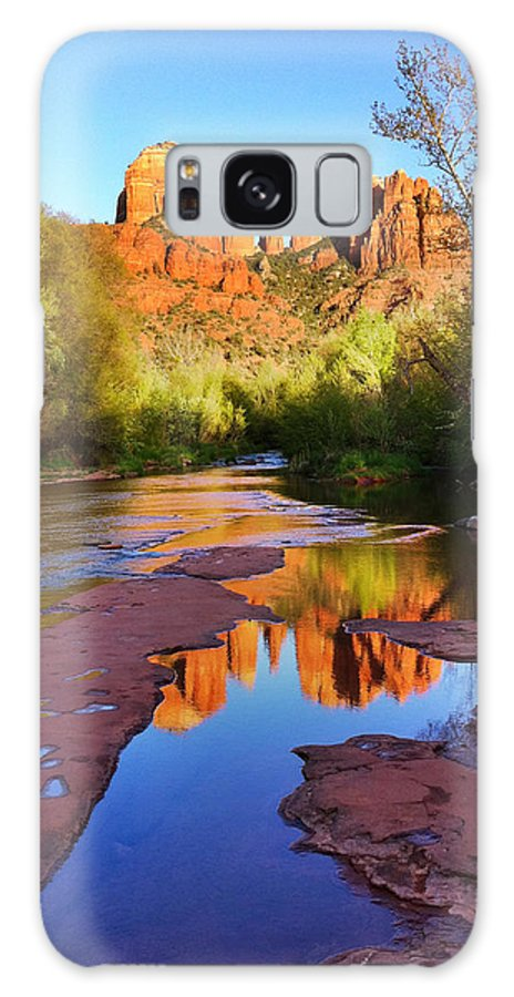 Iphoneography Galaxy S8 Case featuring the photograph Cathedral Rock Sedona by Matt Suess