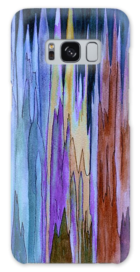 Watercolor Galaxy S8 Case featuring the painting Cathedrals by Brenda Owen