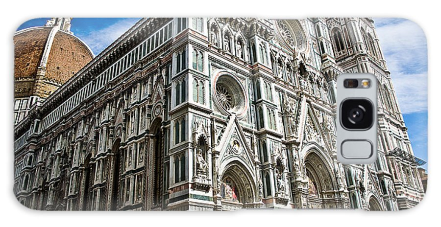Firenze Galaxy S8 Case featuring the photograph Cattedrale Di Santa Maria Del Fiore by Nelson Mineiro