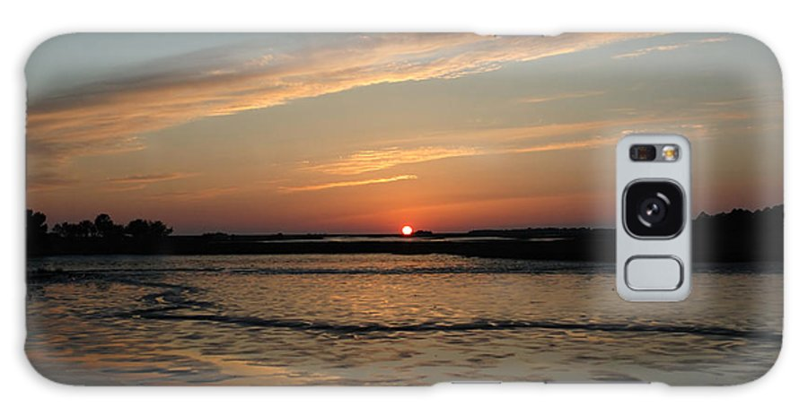 Sunset Galaxy S8 Case featuring the photograph Cedar Key Sunset 1 by Kathi Shotwell