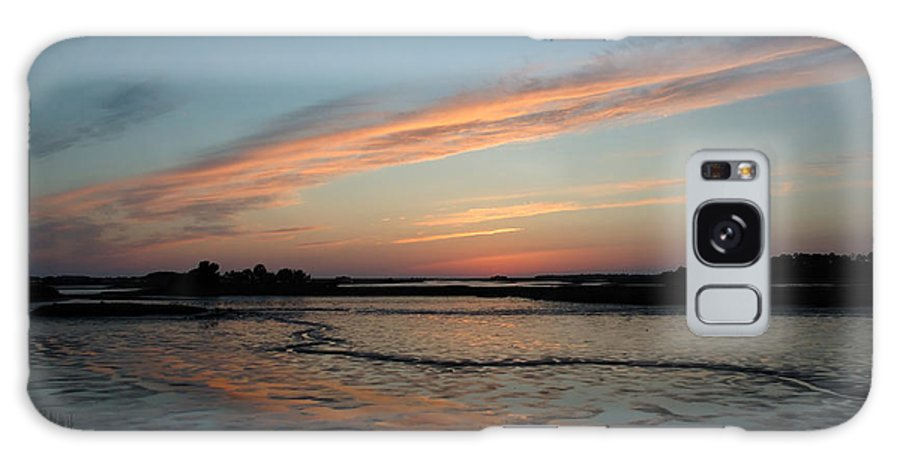 Sunset Galaxy S8 Case featuring the photograph Cedar Key Sunset 2 by Kathi Shotwell