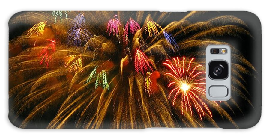 Fireworks Galaxy Case featuring the photograph Celebrate by Rhonda Barrett