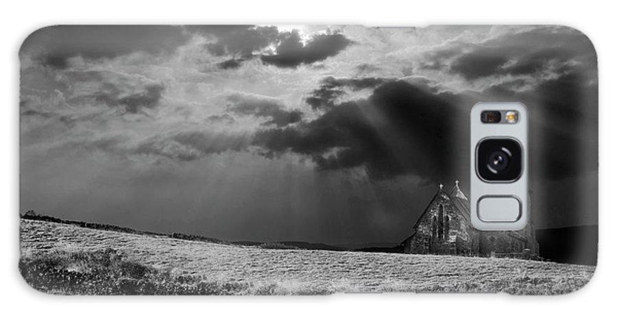 Church Galaxy S8 Case featuring the photograph Celestial Lighting by Meirion Matthias