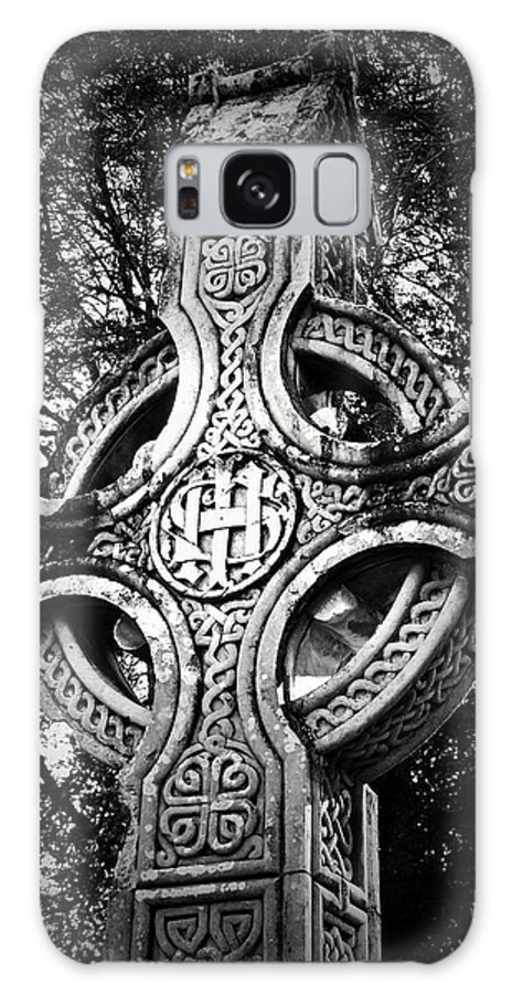 Irish Galaxy S8 Case featuring the photograph Celtic Cross Detail Killarney Ireland by Teresa Mucha