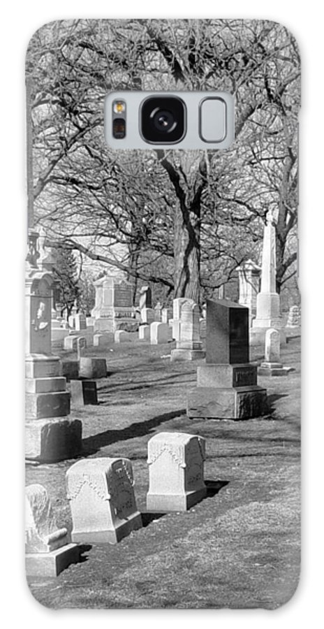 Cemetery Galaxy S8 Case featuring the photograph Cemetery 3 by Anita Burgermeister