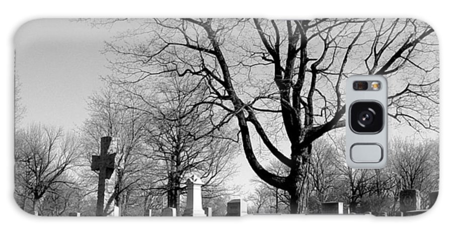 Cemetery Galaxy S8 Case featuring the photograph Cemetery 5 by Anita Burgermeister