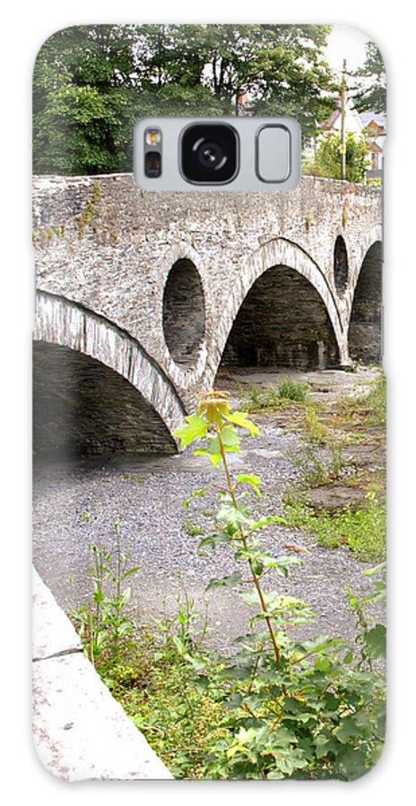 Country Scenes Galaxy S8 Case featuring the photograph Cenarth Bridge by Richard Denyer