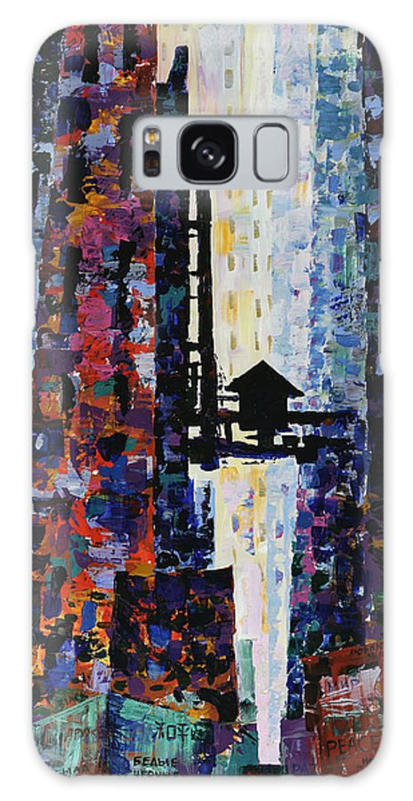 Urban Galaxy S8 Case featuring the painting Center Street by Yelena Tylkina