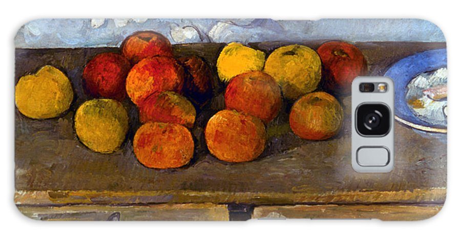 1880 Galaxy S8 Case featuring the photograph Cezanne: Apples & Biscuits by Granger