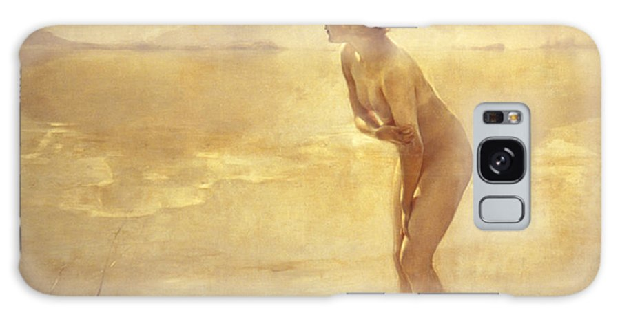 20th Century Galaxy Case featuring the painting September Morn by Paul Chabas