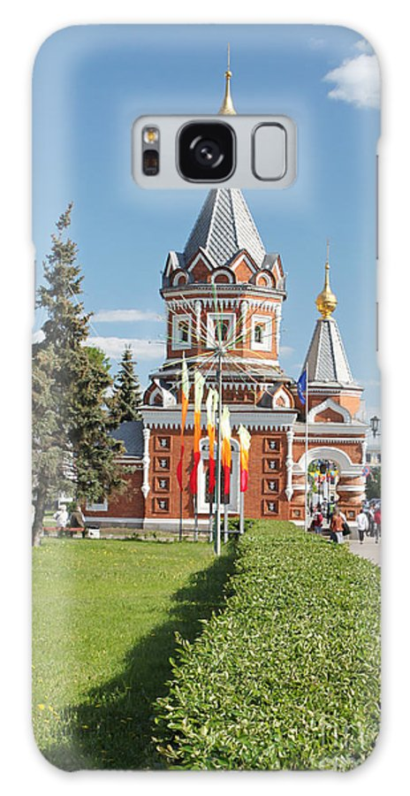 Russia Galaxy S8 Case featuring the photograph Chapel Of Alexander Nevskogo by Evgeny Pisarev