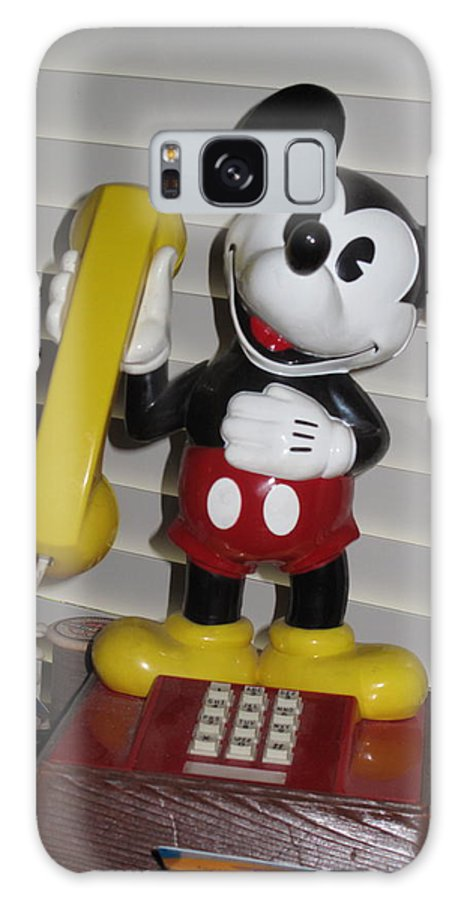 Mickey Mouse Galaxy S8 Case featuring the photograph Charley's Telephone by Carl Purcell
