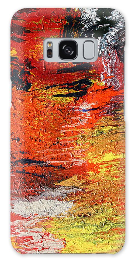 Fusionart Galaxy Case featuring the painting Chasm by Ralph White
