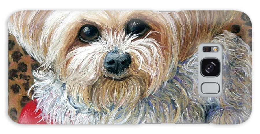 Dog Galaxy S8 Case featuring the painting My Friend by Minaz Jantz