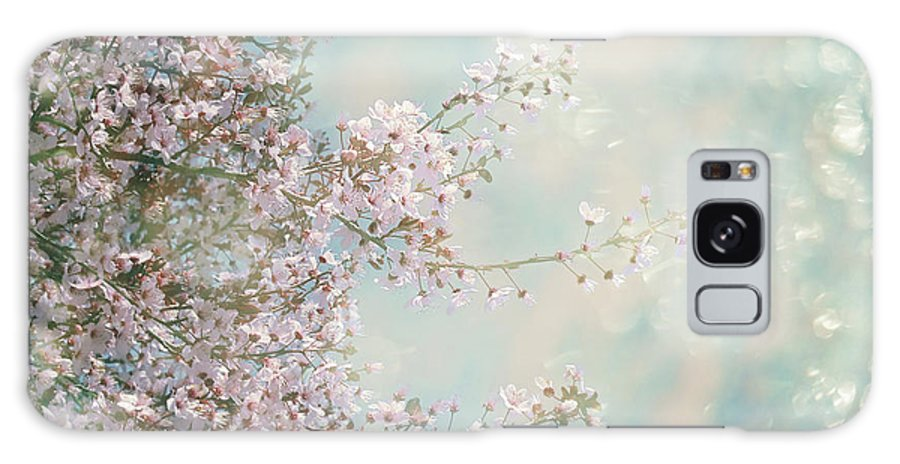 Blossom Galaxy S8 Case featuring the photograph Cherry Blossom Dreams by Linda Lees