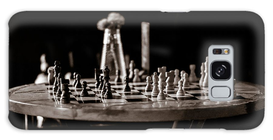 Galaxy S8 Case featuring the photograph Chess Board by Rod Lindley