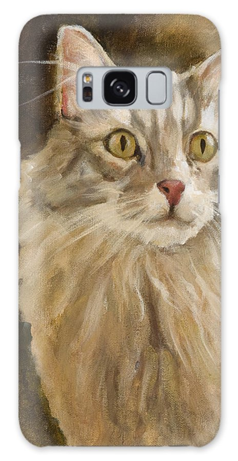 Animal Galaxy S8 Case featuring the painting Chessie by Jimmie Trotter