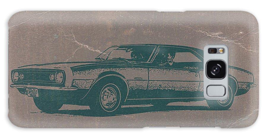 1968 Chevy Camaro Galaxy S8 Case featuring the photograph Chevy Camaro by Naxart Studio
