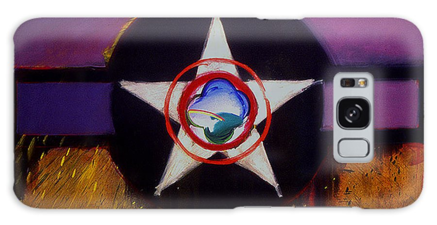 Air Force Insignia Galaxy Case featuring the painting Cheyenne Autumn by Charles Stuart