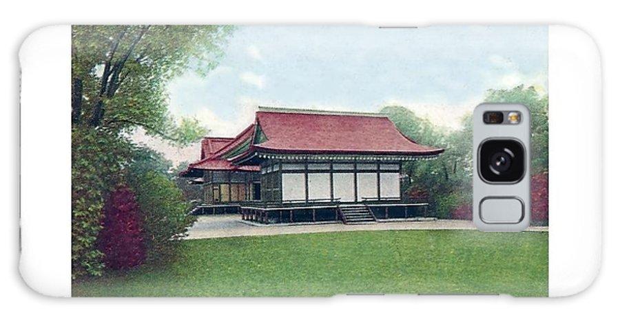 Detroit Galaxy S8 Case featuring the digital art Chicago - Japanese Tea Houses - Jackson Park - 1912 by John Madison