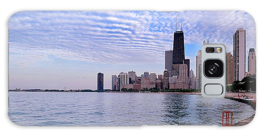 Chicago Galaxy S8 Case featuring the photograph Chicago Lakeshore by Thomas Morris