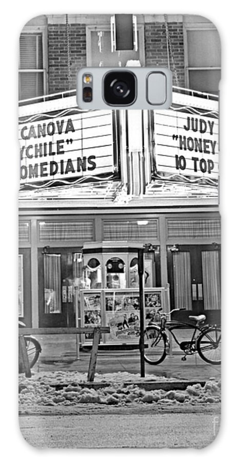 Oklahoma Galaxy Case featuring the photograph Chief Theater by Larry Keahey