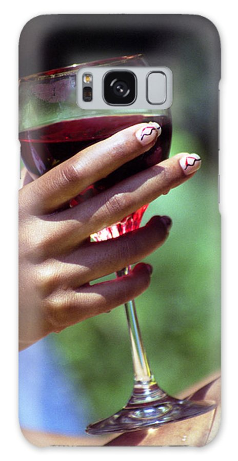 Wine Galaxy Case featuring the photograph Chillin by Ayesha Lakes
